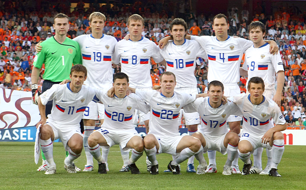 мира футболу 2008 место чемпионат по россия